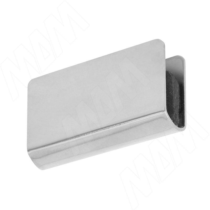 Накладка для маг.защелки хром (2008 CHROME) накладка skinbox silicone chrome border для lg k5 2000000122847 серебристый