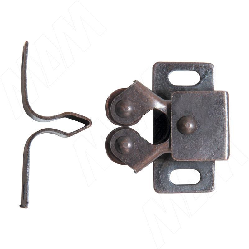 Защелка роликовая, бронза 3132BR - Купить в интернет-магазине в Москве и России. МДМ. Все для мебели.