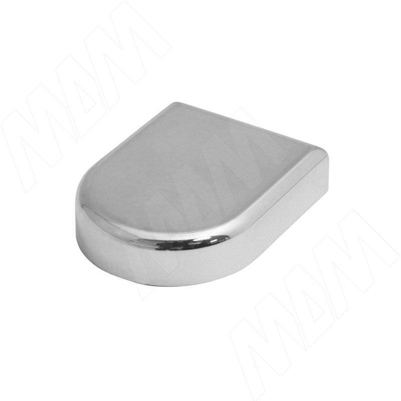 Mini QS заглушка декоративная D-образн., хром (510150 5D) заглушка sl mini 8 019323