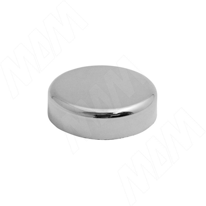 Mini QS заглушка декоративная круглая, хром (510150 5R) заглушка sl mini 8 019323