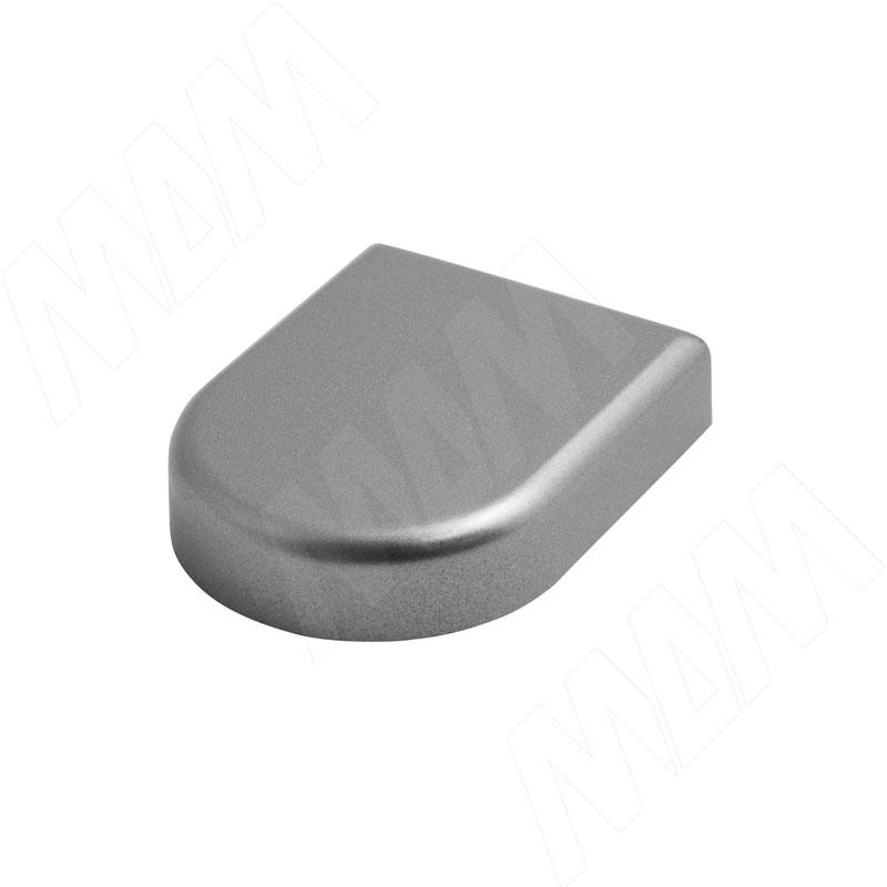 Mini QS заглушка декоративная D-образн., хром матовый (510150 GD) заглушка sl mini 8 019323