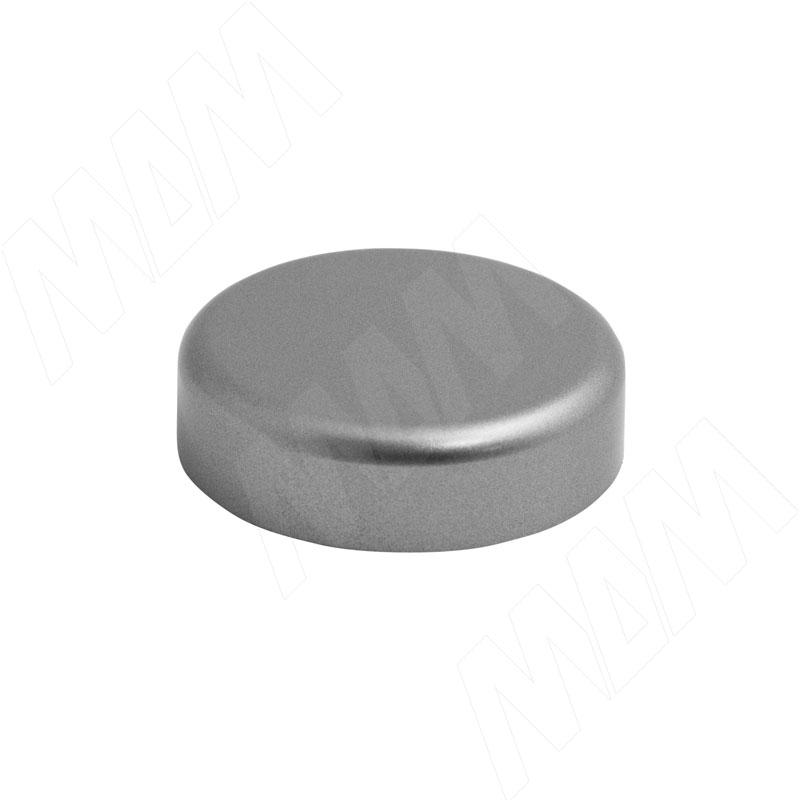 Mini QS заглушка декоративная круглая, хром матовый (510150 GR)