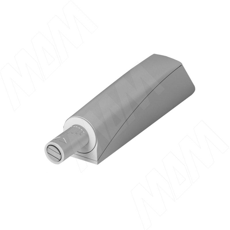 K-PUSH TECH толкатель накладной 14 мм с магнитом, серый (57002020IJ SET)