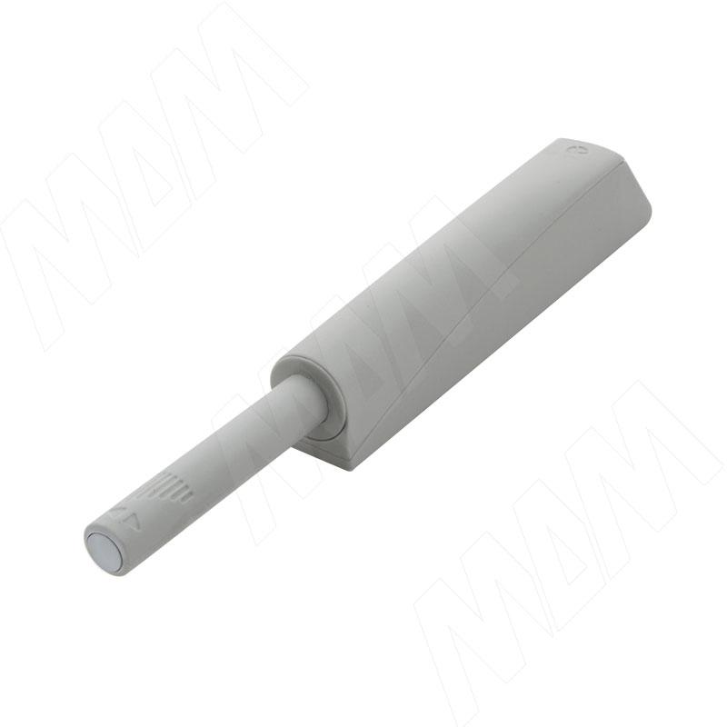K-PUSH TECH толкатель накладной 37 мм с демпфером, серый (57008040IJ SET)