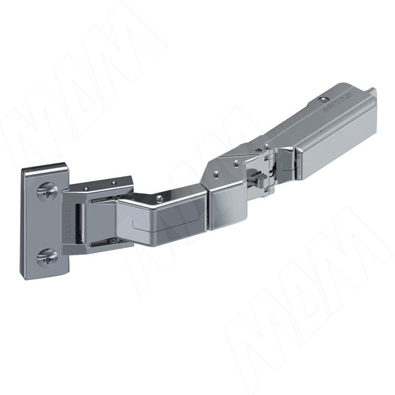 TIOMOS M0 петля для дверей 6-10 мм без сверления со встроенным амортизатором (90/125) накладная (F029140331)