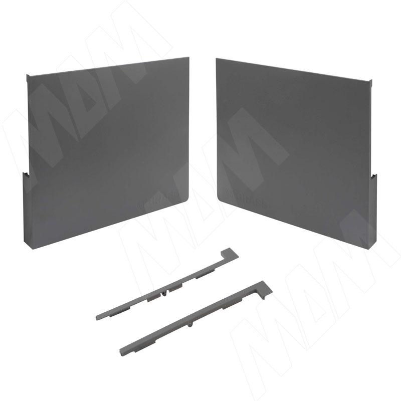 Kinvaro T-SLIM, комплект заглушек (фронтальные, боковые), графит (TS002)