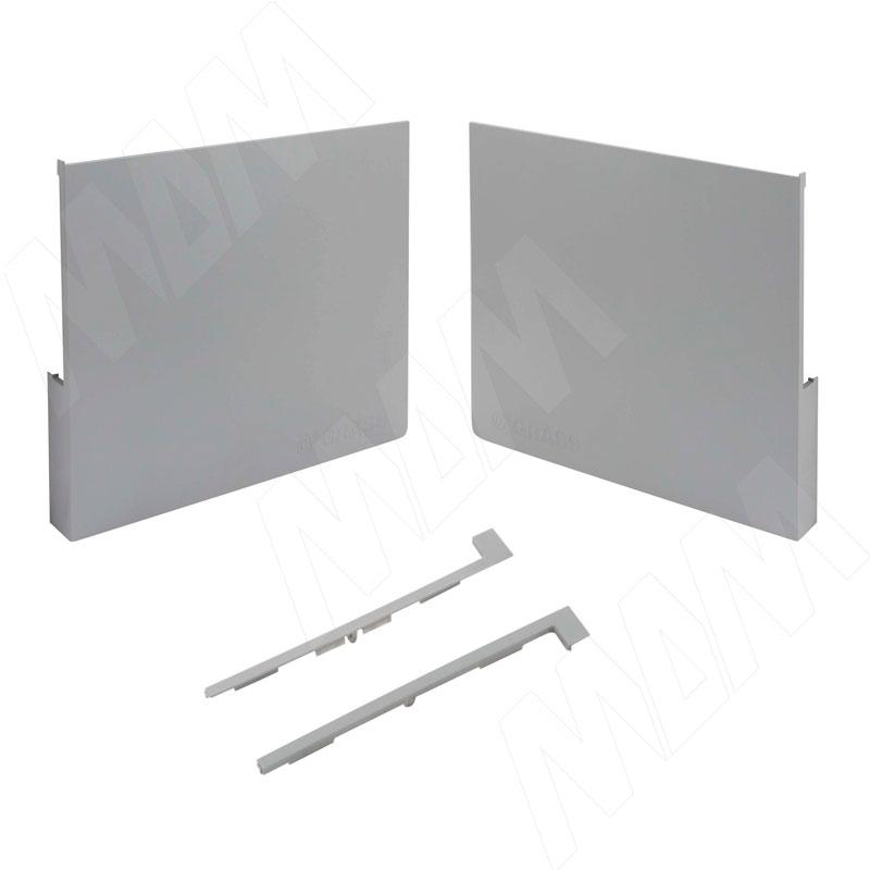 Kinvaro T-SLIM, комплект заглушек (фронтальные, боковые), серый (TS003)