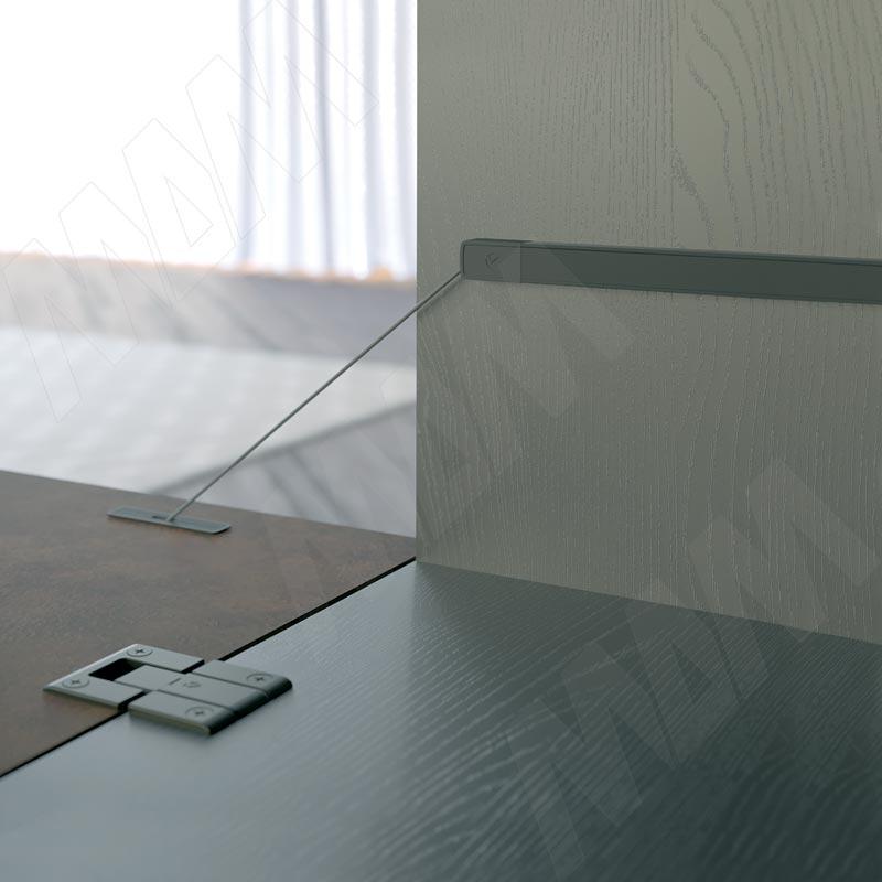 KIARO алюминиевый профиль для механизма, антрацит фото товара 2 - 46205500FV
