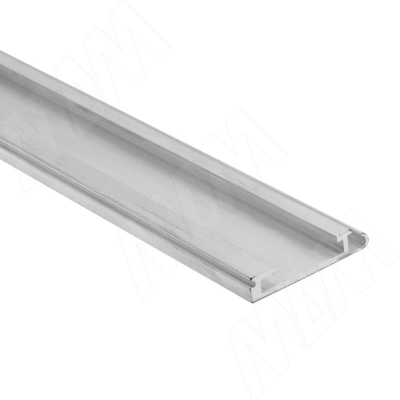 3663 завершающий профиль, алюминий, L-2600 (3708PR)