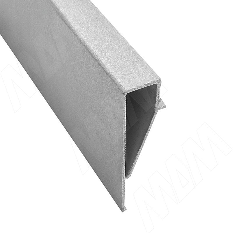 Фото - Декоративный карнизный профиль для коллектора, серебро, L-2600 (7963_416) профиль декоративный ol90 3000 мм серебро
