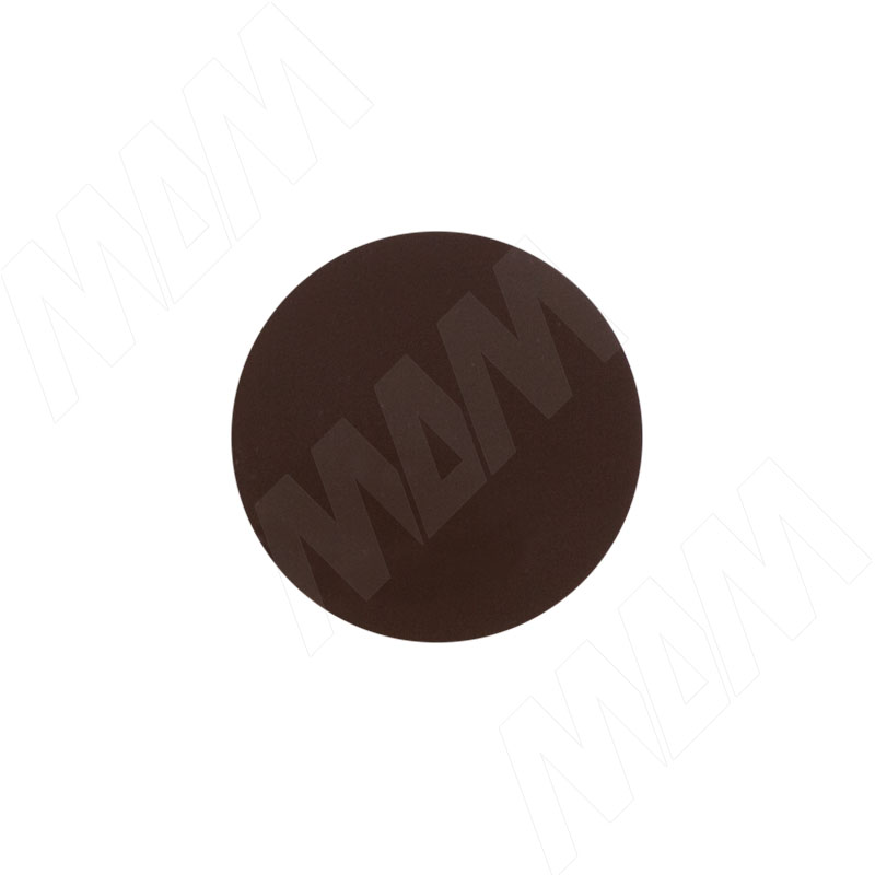 Заглушка самоклеящаяся темно-коричневая, D20 мм (18 шт.) (20.007-HD) корсет oem everdeal 66608