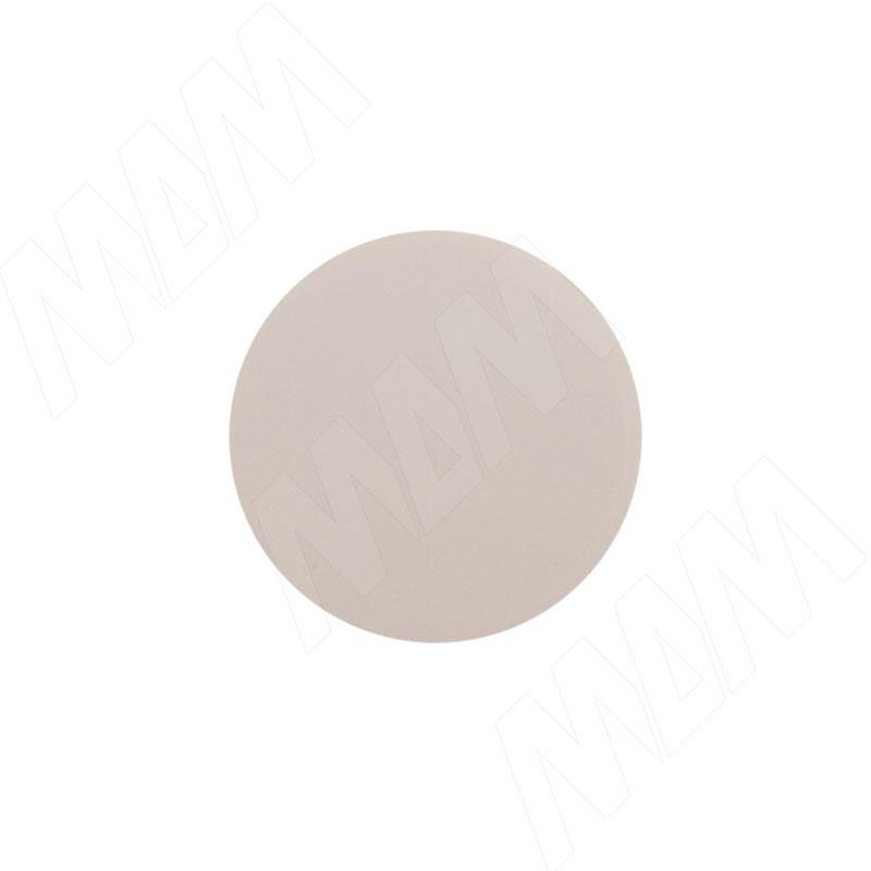 Заглушка самоклеящаяся кашемир серый, D13 мм (63 шт.) (13.007-NC) цена