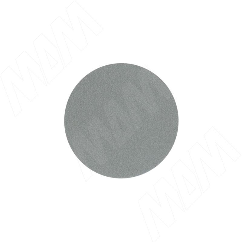 Заглушка самоклеящаяся серый металлик, D13 мм (63 шт.) (13.022-HM) цена