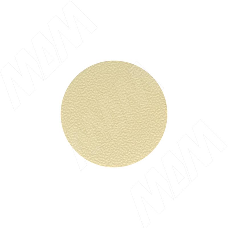 Заглушка самоклеящаяся бежевый однотонный, D13 мм (63 шт.) (13.030-HD) цена