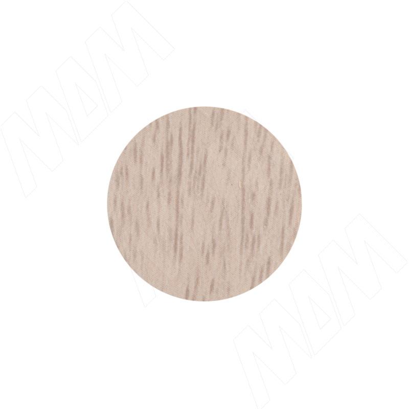 Заглушка самоклеящаяся дуб дымчатый, D20 мм (18 шт.) (20.030-HM) заглушка самоклеящаяся вишня оксфорд d20 мм 18 шт 20 074 hm