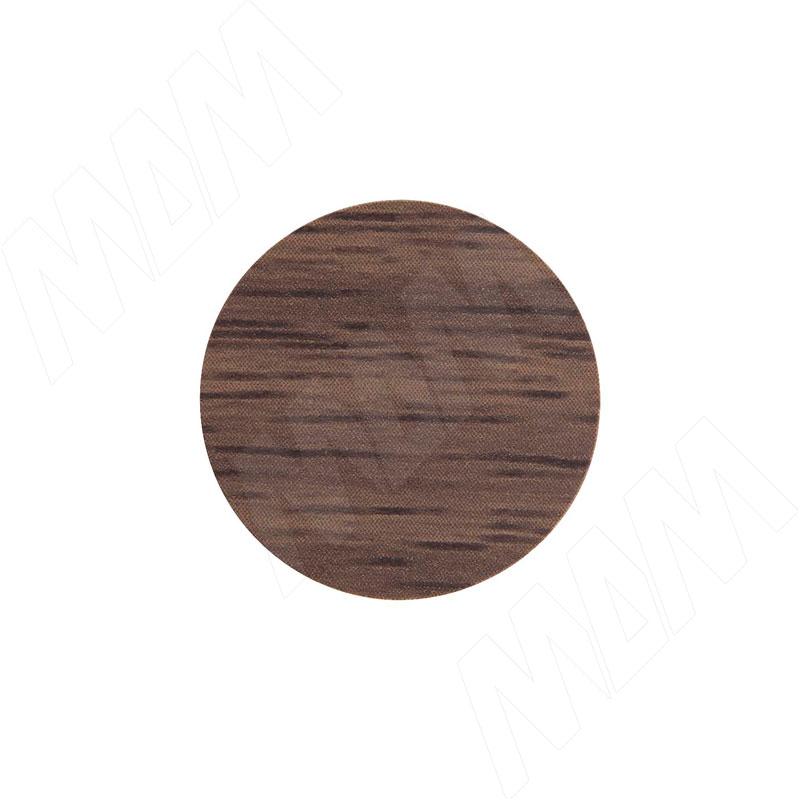 Заглушка самоклеящаяся дуб Галифакс табак, D20 мм (18 шт.) фото товара 1 - 20.036-HM