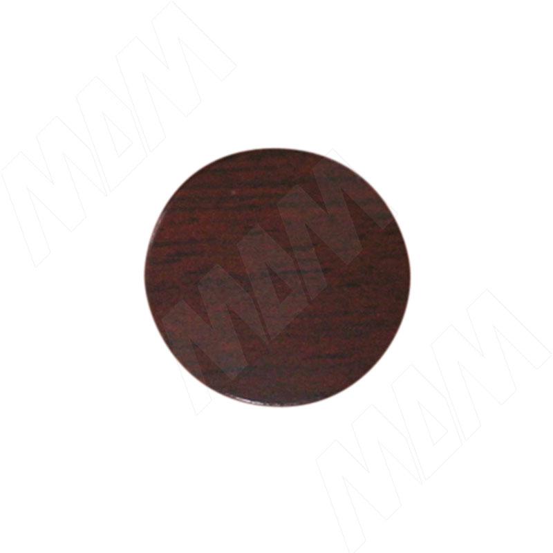 Заглушка самоклеящаяся махагон, D13 мм (63 шт.) фото товара 1 - 13.048-HM