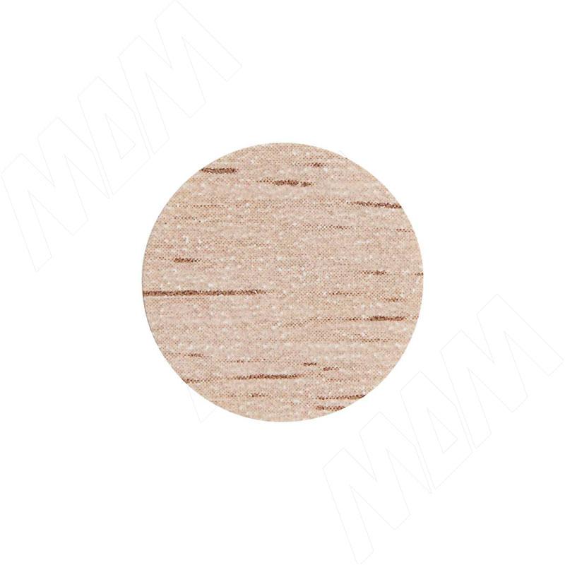 Заглушка самоклеящаяся дуб Бардолино натуральный, D13 мм (63 шт.) фото товара 1 - 13.054-HM