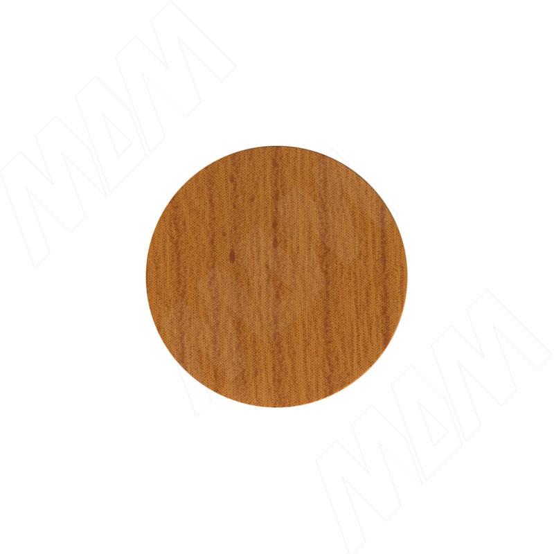 Фото - Заглушка самоклеящаяся вишня оксфорд, D20 мм (18 шт.) (20.074-HM) угловая секция гамма премиум вишня оксфорд