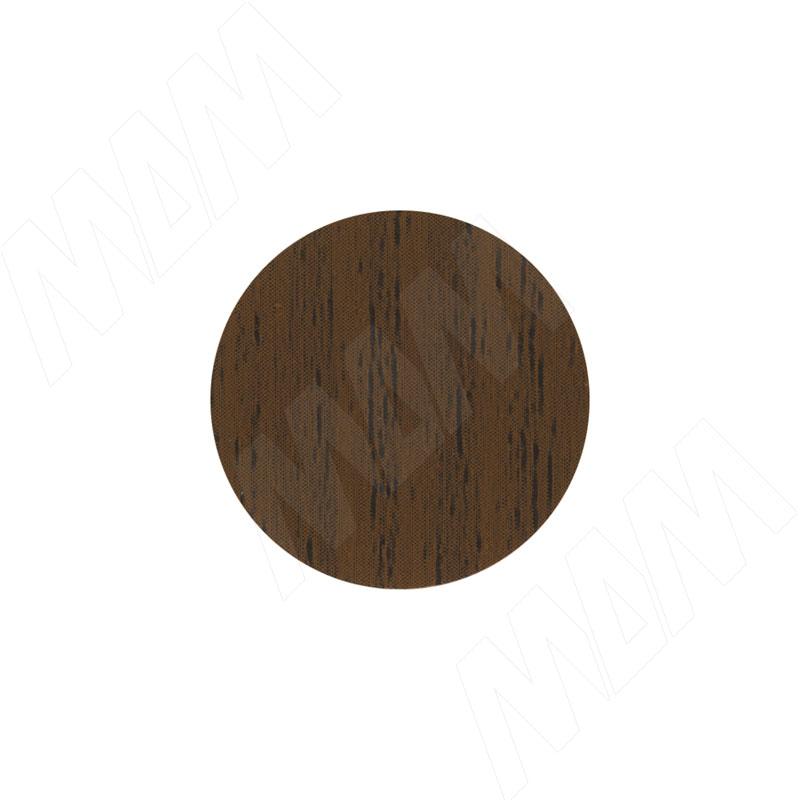 Заглушка самоклеящаяся орех, D20 мм (18 шт.) (20.076-HM) заглушка самоклеящаяся вишня оксфорд d20 мм 18 шт 20 074 hm