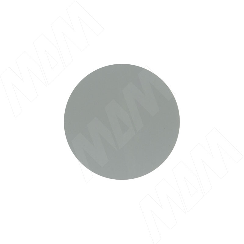 Заглушка самоклеящаяся серая, D20 мм (18 шт.) (20.080-HD) заглушка самоклеящаяся d 14мм металлик