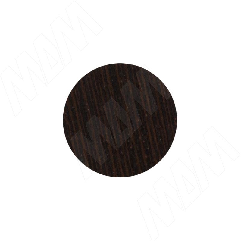 Заглушка самоклеящаяся дуб венге темный, D20 мм (18 шт.) (20.128-HM) заглушка самоклеящаяся вишня оксфорд d20 мм 18 шт 20 074 hm