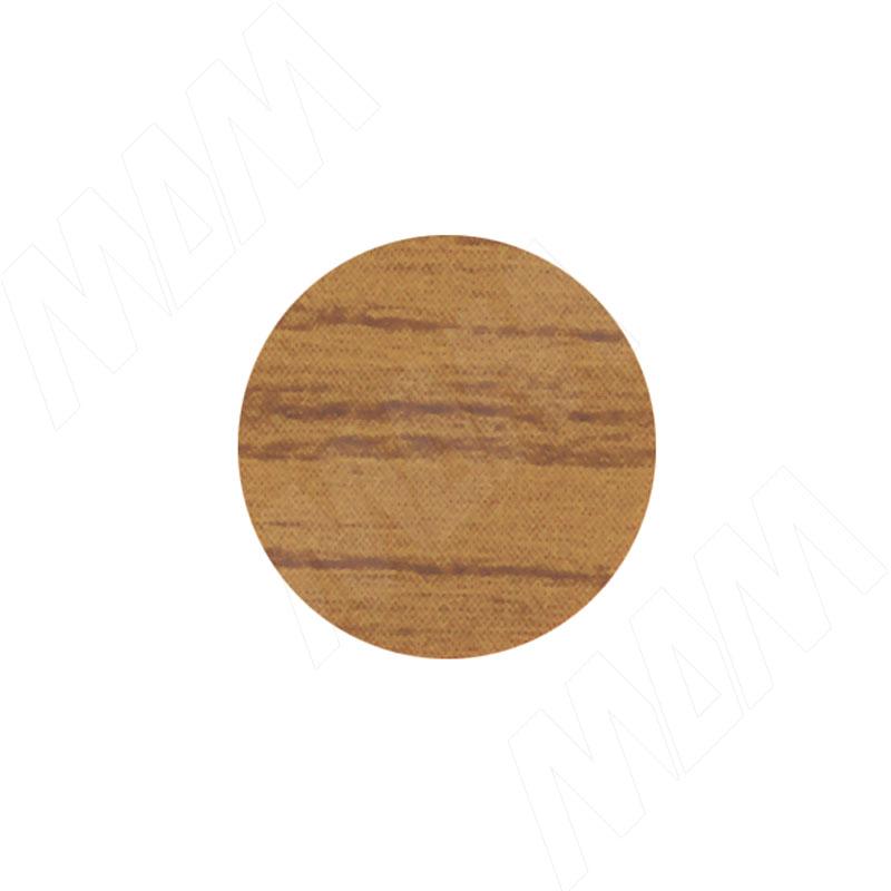 Заглушка самоклеящаяся дуб ривьера, D13 мм (63 шт.) (13.158-HM)
