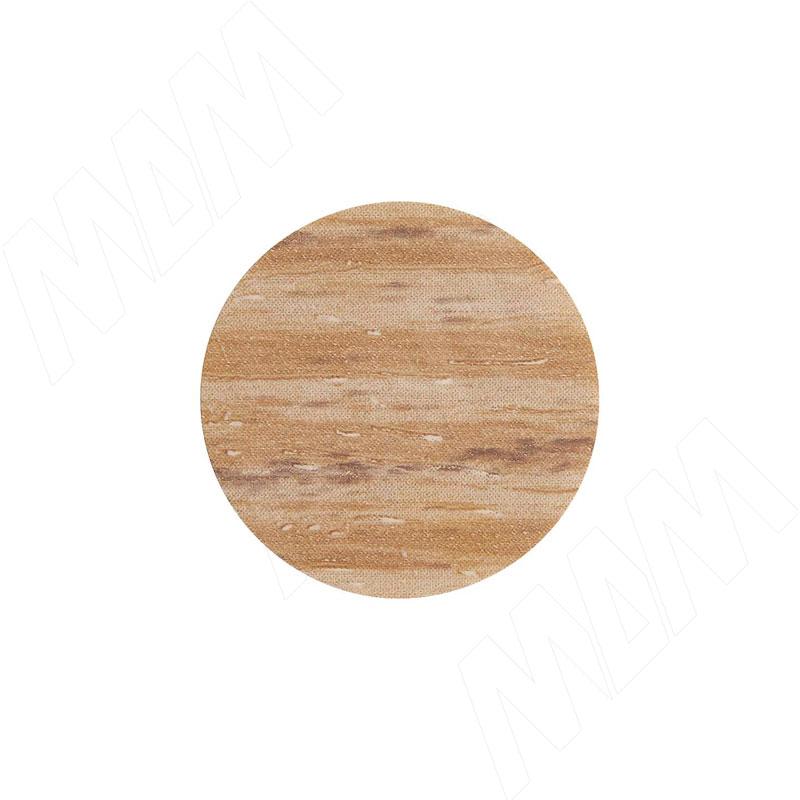 Заглушка самоклеящаяся дуб Галифакс натуральный, D13 мм (63 шт.) фото товара 1 - 13.167-HM
