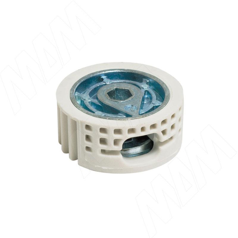 SPIRAL LOCK Эксцентрик в пластиковом корпусе для плит толщиной от 22 мм, D35 (2 16240 2000)