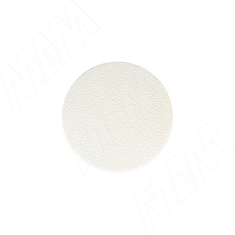 Заглушка самоклеящаяся белая, D35 мм (15 шт.) (35.020-HD) заглушка декоративная 10 шт в упаковке белая