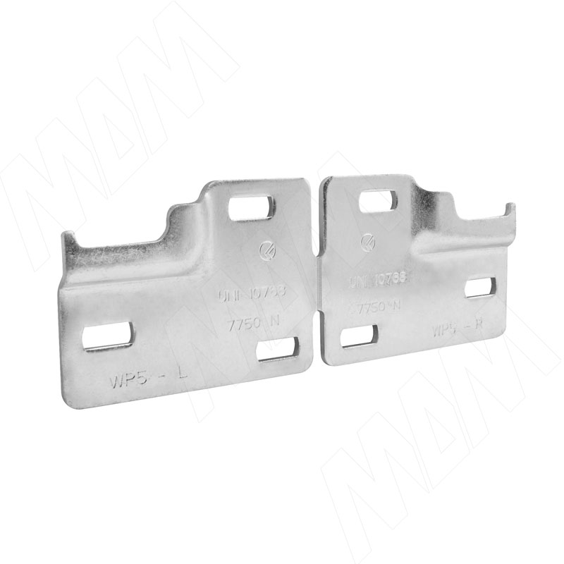 LIBRA WP5 Планка для навесов для коробов нижнего яруса, сталь (6 34500 50 ZN)