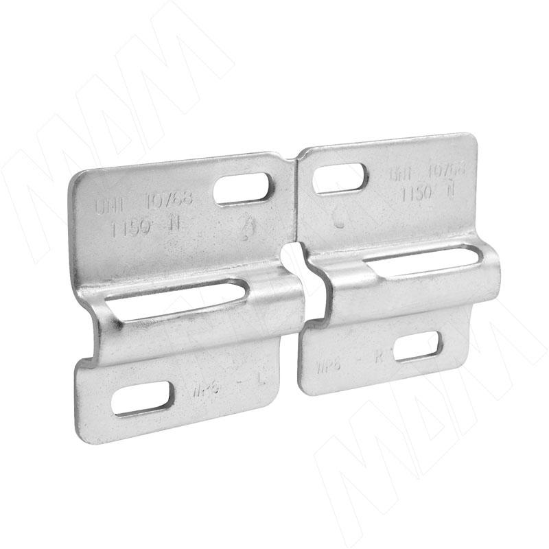 LIBRA WP6 Планка для навесов для коробов с отступом от стены, сталь (6 34500 60 ZN) libra wp13 планка для навесов для коробов нижнего яруса сталь 63450180zn