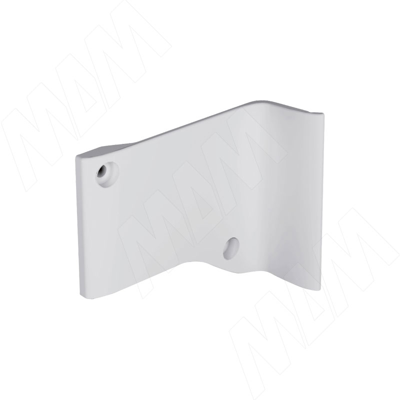 LIBRA H7 Заглушка для мебельного навеса, пластик, белая, левая (6 34906 10 AB)