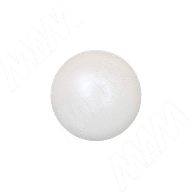 Заглушка для конфирмата S=4, белая (S=4/Н БЕЛЫЙ 1 Н)