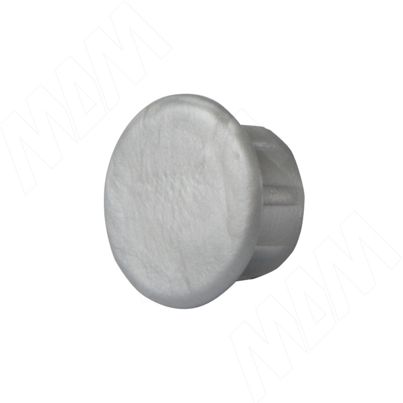 Заглушка для технологических отверстий, серый металлик, D10 мм фото товара 1 - CF03PGA