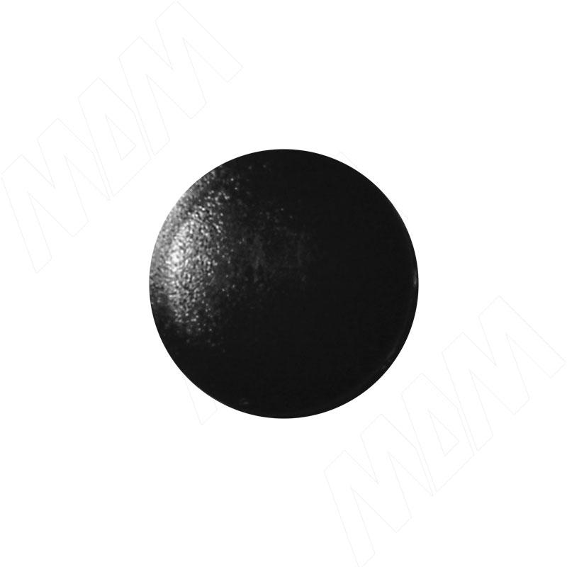 Заглушка для конфирмата S=4, черная (S=4 ЧЕРНЫЙ №5 Н)