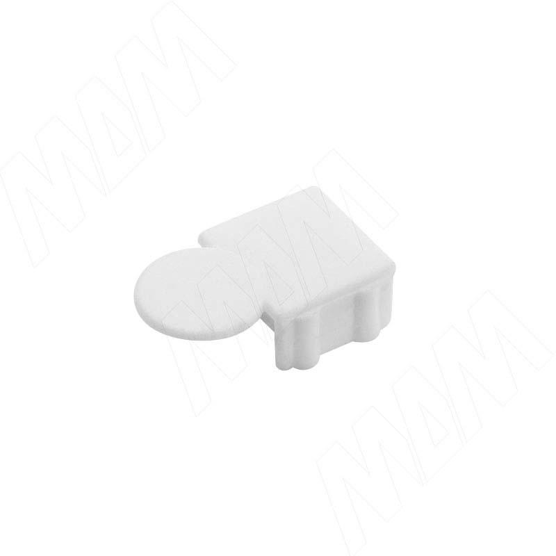 Заглушка для эксцентрика усиленного в пластиковом корпусе, белая CSE01PB - Купить в интернет-магазине в Москве и России. МДМ. Все для мебели.