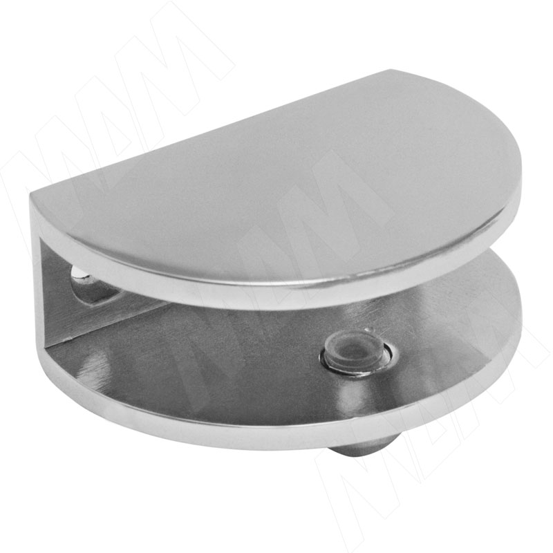Полкодержатель для стеклянных полок толщиной 8-10 мм, хром (F001 CHROME) полкодержатель для стеклянных полок толщиной 5 8 мм со штоком никель mv08znl