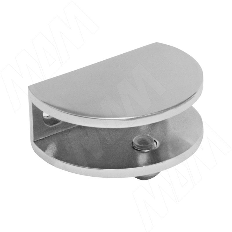Полкодержатель для стеклянных полок толщиной 8-10 мм, хром (F002 CHROME) полкодержатель для стеклянных полок толщиной 5 8 мм со штоком никель mv08znl