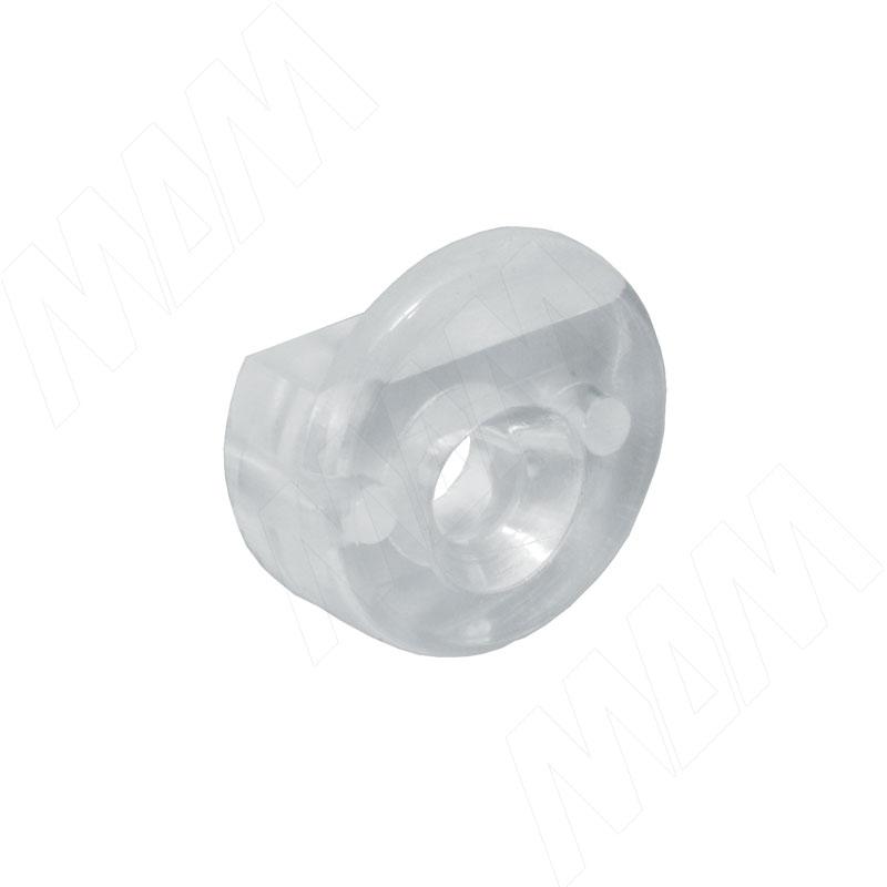 Крепление для стекла 4 мм прозрачное (FS02PT)