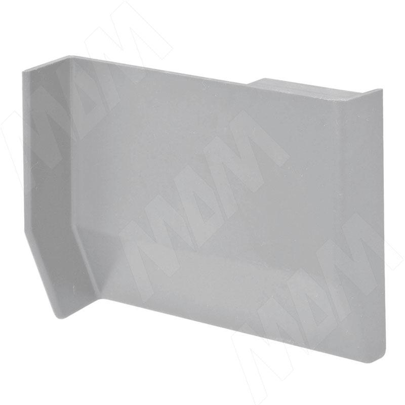 801 Заглушка для мебельного навеса, пластик, серая, левая K013.C00L.901 - Купить в интернет-магазине в Москве и России. МДМ. Все для мебели.
