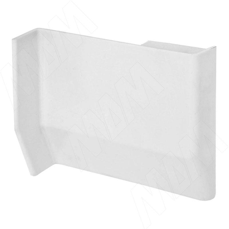 801 Заглушка для мебельного навеса, пластик, белая, левая (K013.C00L.911)