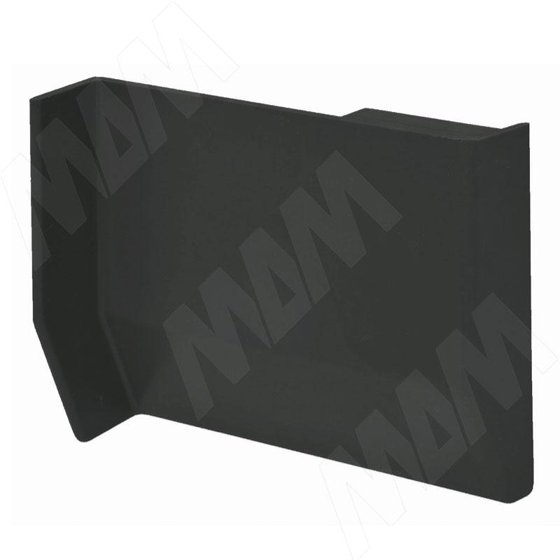 801 Заглушка для мебельного навеса, пластик, черная, правая (K013.C00R.950)