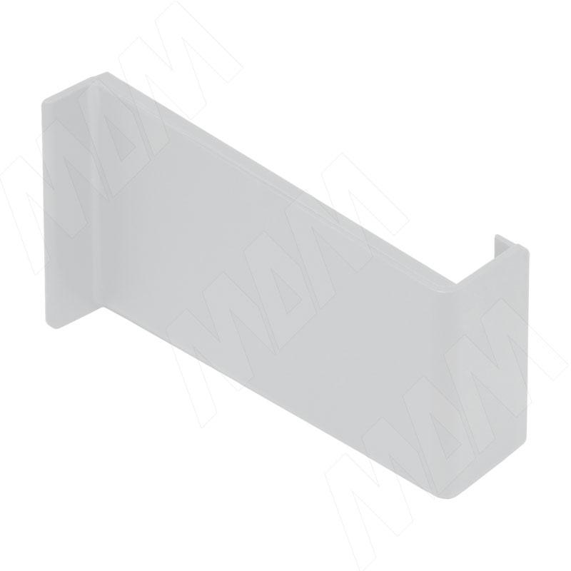 Заглушка для мебельного навеса, пластик, белая, левая (K015.C00L.911/RU)