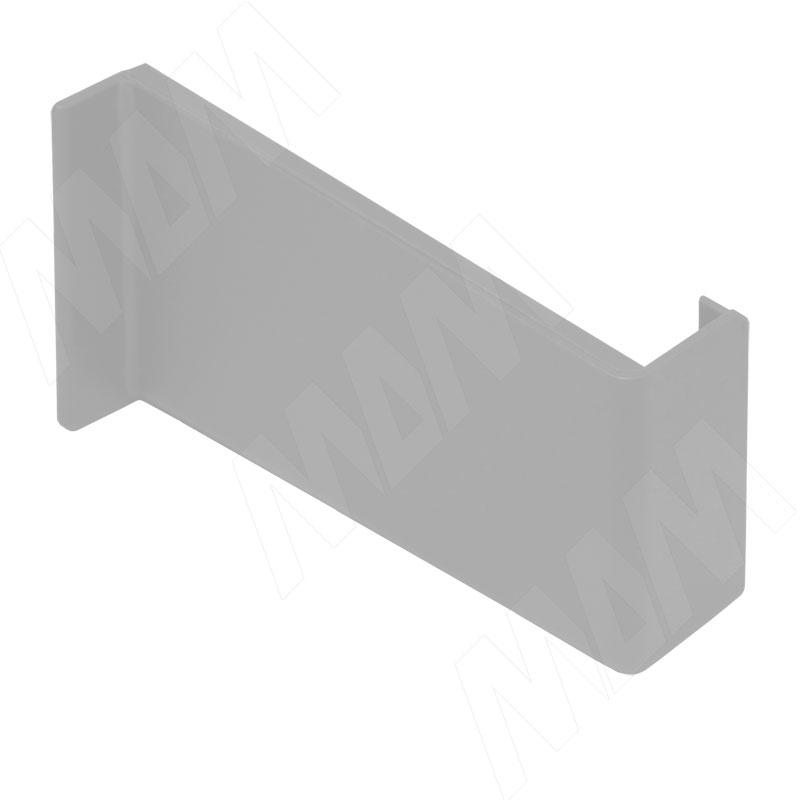 Заглушка для мебельного навеса, пластик, серая, правая (K015.C01R.901/RU)