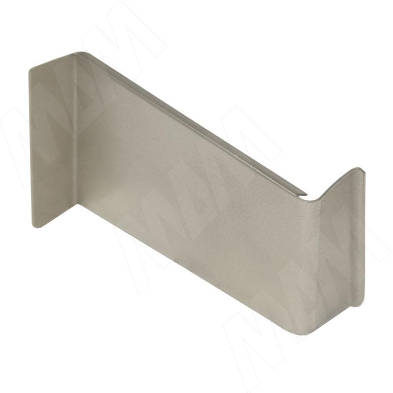 806 Заглушка для мебельного навеса, металл, никель, правая (K015.C02R.120)