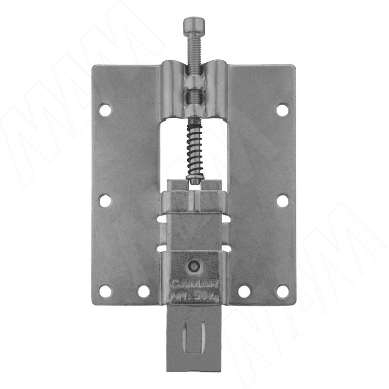 814 Навес для стеновых панелей с пружиной, сталь, 50кг (K025.002.101) пароочиститель monster mb 10737