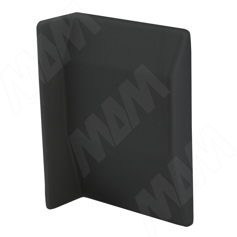 807 Заглушка для мебельного навеса, пластик, черная, левая (K075.C01L.005)