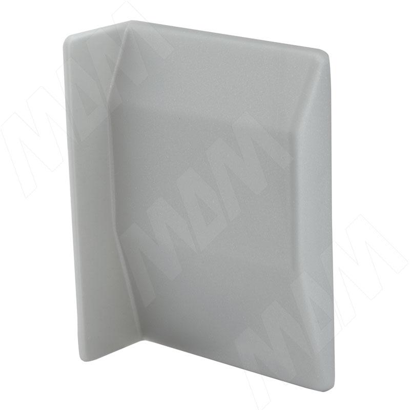 807 Заглушка для мебельного навеса, пластик, серая, левая (K075.C01L.006)