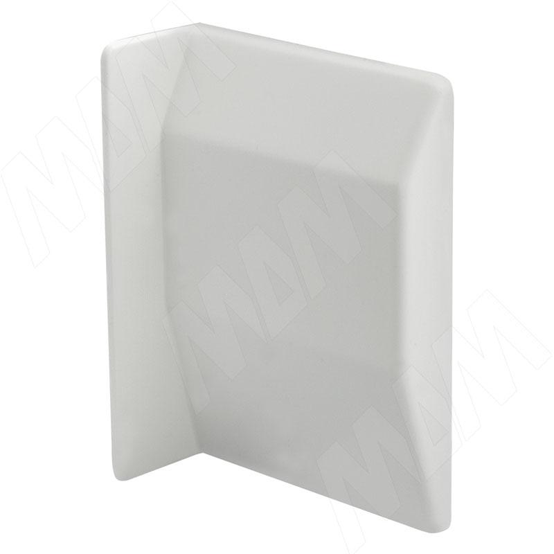 807 Заглушка для мебельного навеса, пластик, белая, левая (K075.C01L.008)